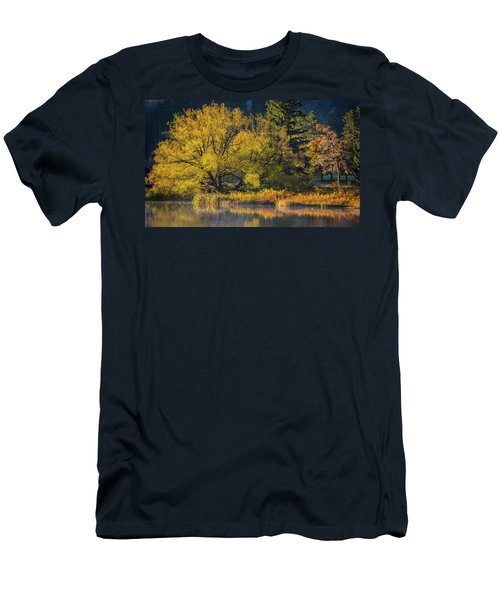 A Fall Day  Men's T-Shirt (Athletic Fit)