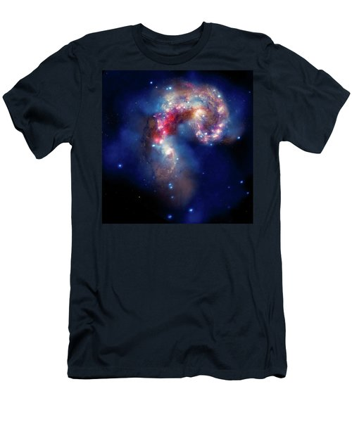 Men's T-Shirt (Slim Fit) featuring the photograph A Galactic Spectacle by Marco Oliveira