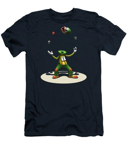 Men's T-Shirt (Slim Fit) featuring the digital art A Hard Act To Follow by Ben Hartnett
