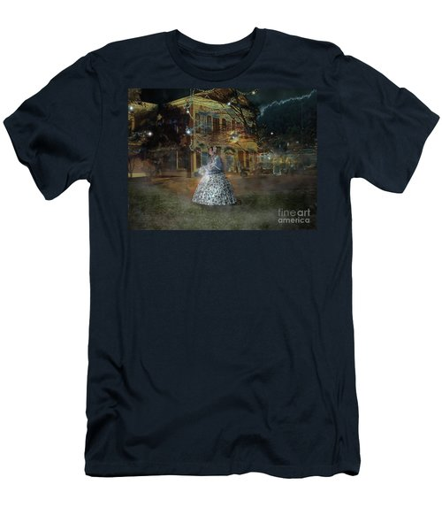 A Haunted Story In Dahlonega Men's T-Shirt (Athletic Fit)