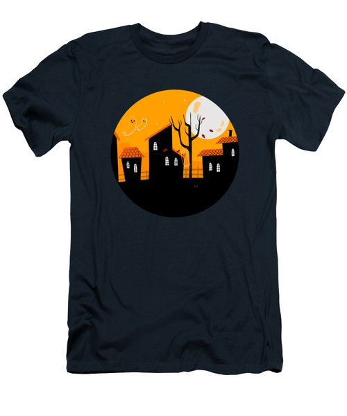 A Haunting We Will Go Men's T-Shirt (Athletic Fit)