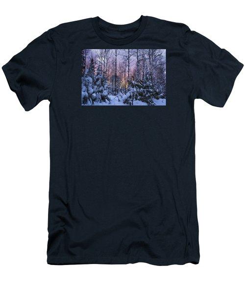 A Hidden Trail Men's T-Shirt (Slim Fit) by Dan Hefle