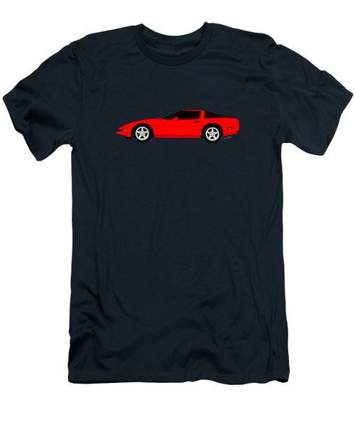 A Little C-4 Zr-1 Corvette On The Side Men's T-Shirt (Athletic Fit)