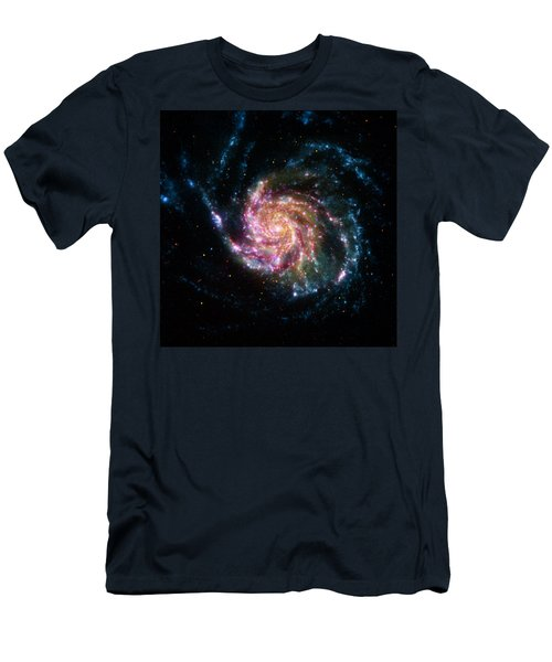 A Pinwheel In Many Colors Men's T-Shirt (Athletic Fit)