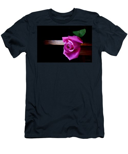 A Single Rose Men's T-Shirt (Athletic Fit)