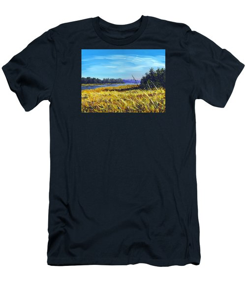 Above The Dam Sketch Men's T-Shirt (Athletic Fit)