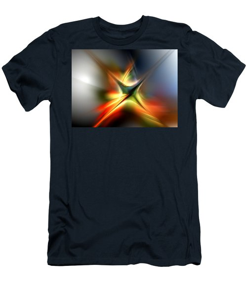Abstract 060310a Men's T-Shirt (Athletic Fit)