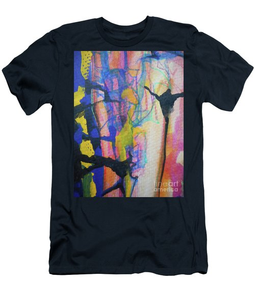 Abstract-3 Men's T-Shirt (Athletic Fit)