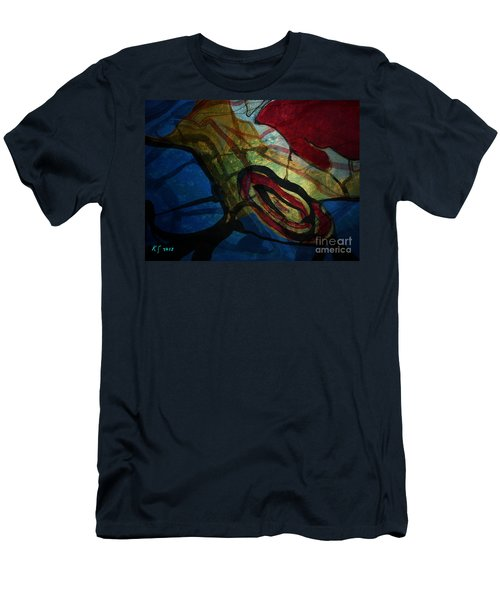 Abstract-31 Men's T-Shirt (Athletic Fit)
