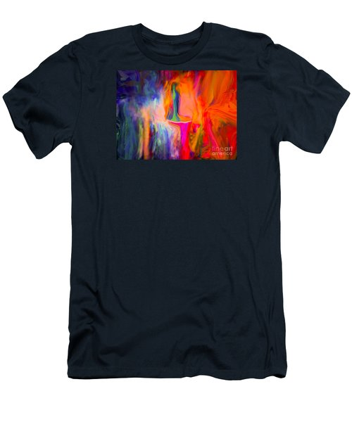 Abstract Art  Waiting Men's T-Shirt (Athletic Fit)