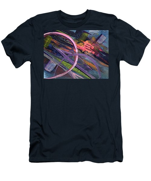 Abstract Blast Men's T-Shirt (Athletic Fit)