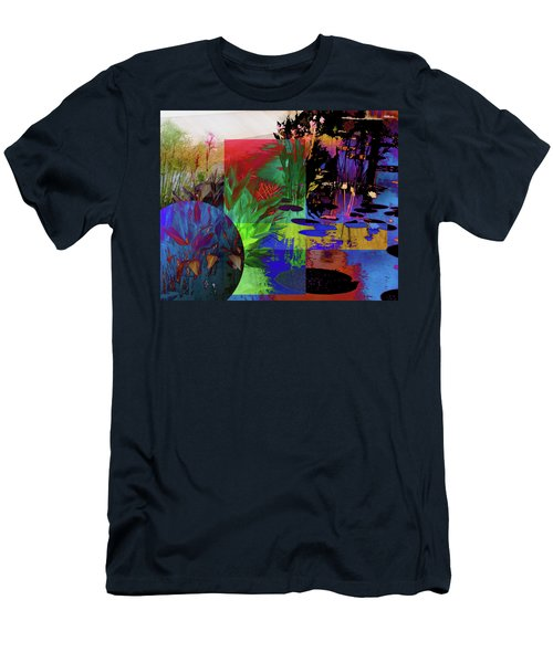 Abstract Flowers Of Light Series #19 Men's T-Shirt (Athletic Fit)