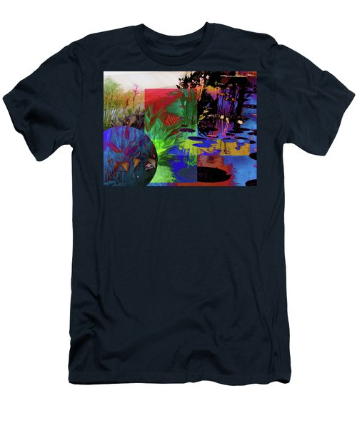 Abstract Flowers Of Light Series #21 Men's T-Shirt (Athletic Fit)