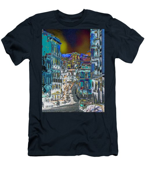 Abstract  Images Of Urban Landscape Series #11 Men's T-Shirt (Athletic Fit)