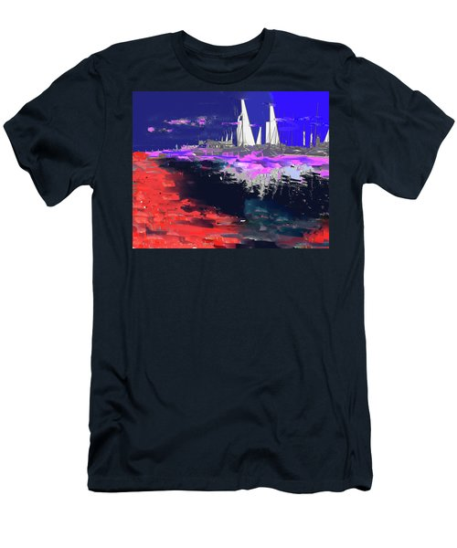Abstract  Images Of Urban Landscape Series #14 Men's T-Shirt (Athletic Fit)