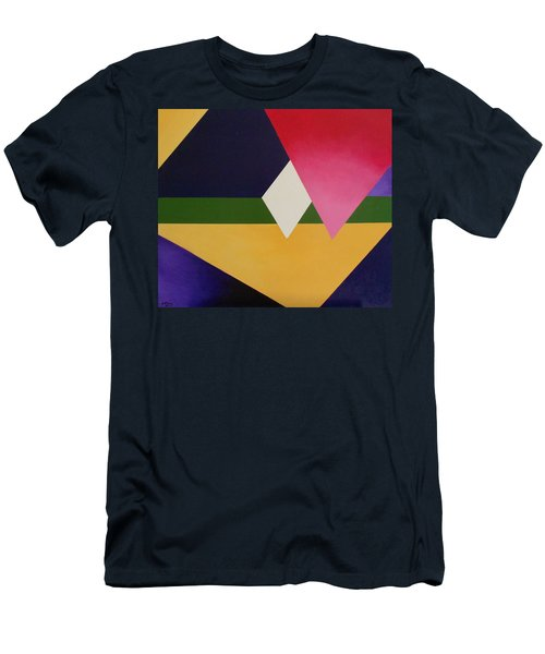 Men's T-Shirt (Slim Fit) featuring the painting Abstract by Jamie Frier