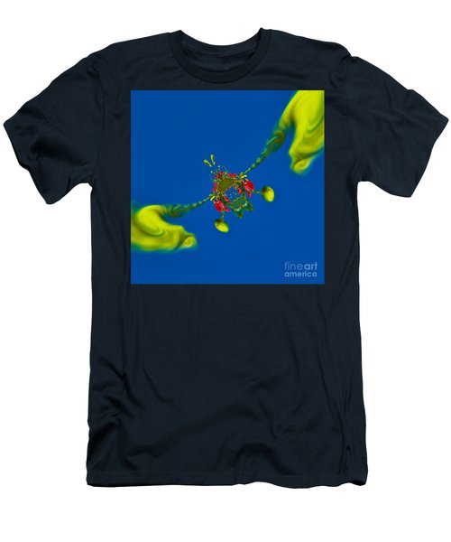 Abstract Lobster 9137205141 Men's T-Shirt (Athletic Fit)