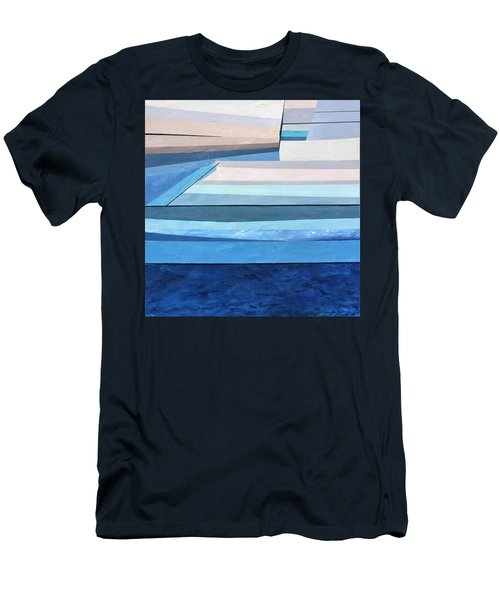 Abstract Swimming Pool Men's T-Shirt (Athletic Fit)