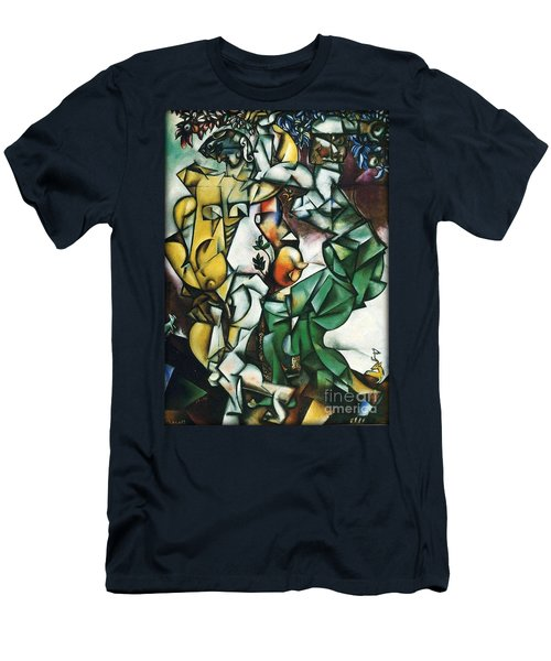 Adam And Eve Men's T-Shirt (Athletic Fit)