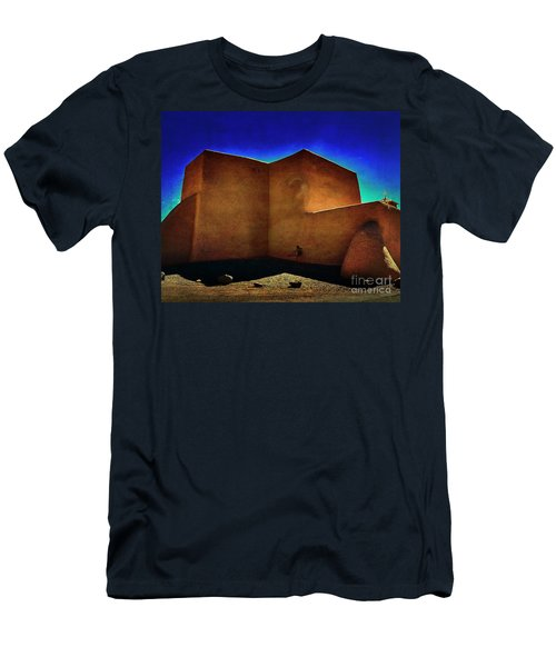 Adobe Church II Men's T-Shirt (Athletic Fit)
