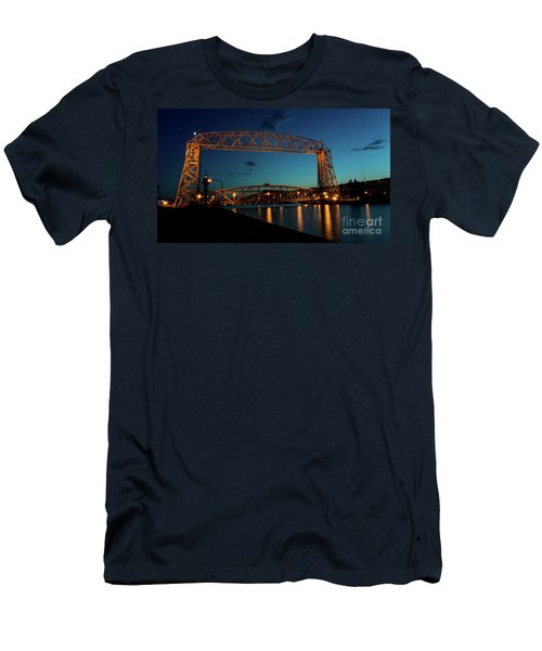 Aerial Lift Bridge Men's T-Shirt (Athletic Fit)
