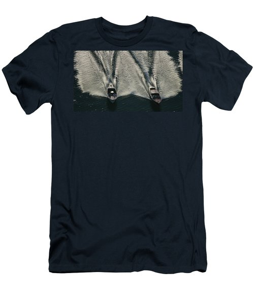 Aerial Wash Men's T-Shirt (Athletic Fit)