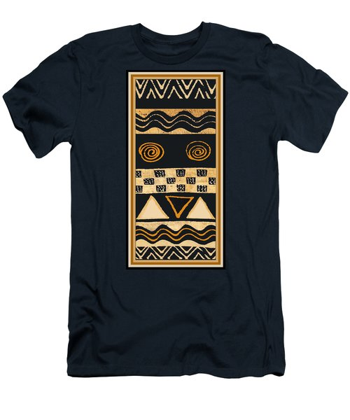 African Memories Men's T-Shirt (Slim Fit) by Vagabond Folk Art - Virginia Vivier