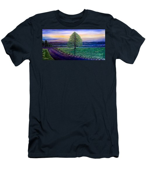 After The Rain Comes The Joy Men's T-Shirt (Athletic Fit)