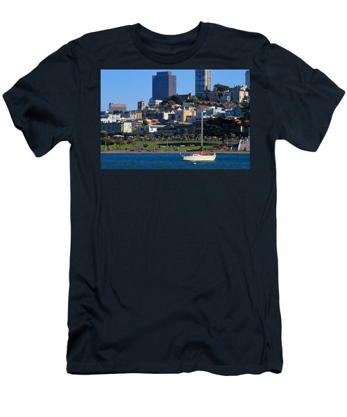Afternoon At Maritime Park Men's T-Shirt (Athletic Fit)