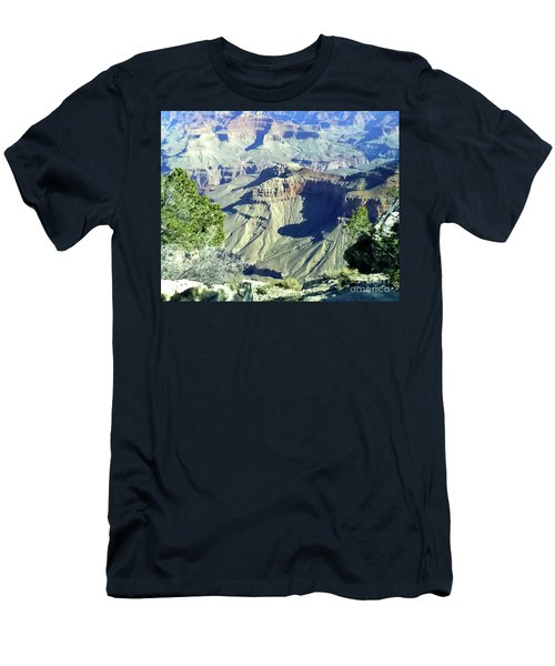 Afternoon View Grand Canyon Men's T-Shirt (Athletic Fit)