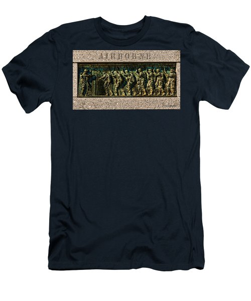 Airborne Men's T-Shirt (Slim Fit) by Christopher Holmes