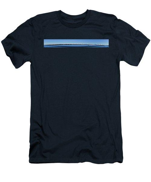 Alaska Highway Panorama Men's T-Shirt (Athletic Fit)
