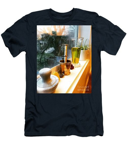 Alchemy And Oils Men's T-Shirt (Athletic Fit)