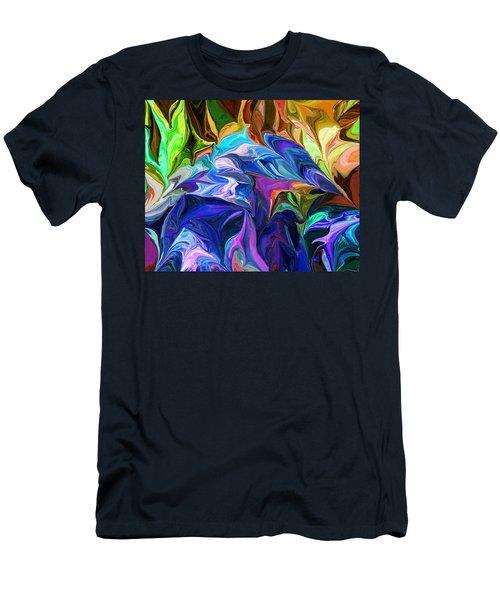 Alien Jungle Flora Men's T-Shirt (Athletic Fit)