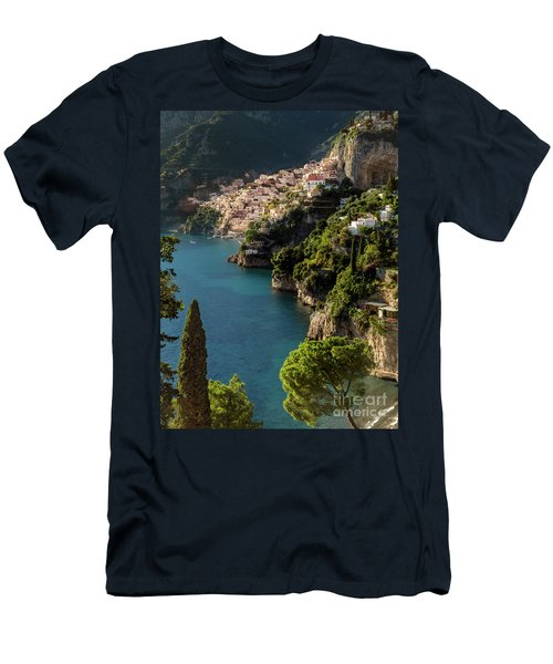 Men's T-Shirt (Athletic Fit) featuring the photograph Almalfi Coast by Brian Jannsen