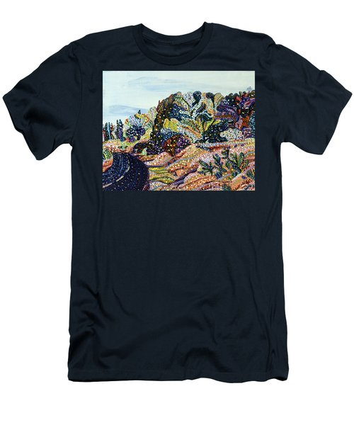 Always Returning Men's T-Shirt (Slim Fit) by Erika Pochybova