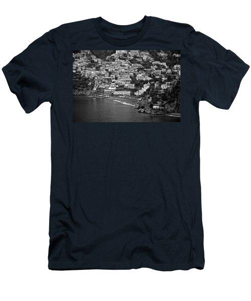 Amalfi's Positano Men's T-Shirt (Slim Fit) by Eric Tressler