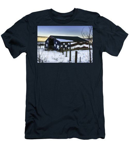 American Snow  Men's T-Shirt (Athletic Fit)