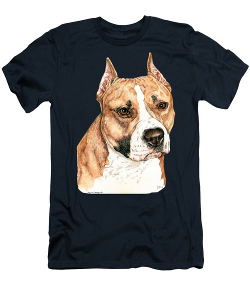 American Staffordshire Terrier Men's T-Shirt (Athletic Fit)