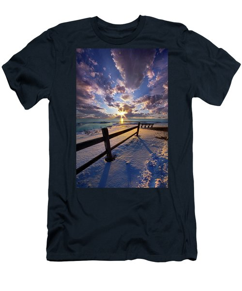 Men's T-Shirt (Slim Fit) featuring the photograph And I Will Give You Rest. by Phil Koch