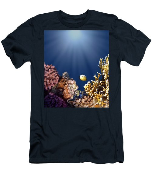 And Then There Was Light Men's T-Shirt (Athletic Fit)