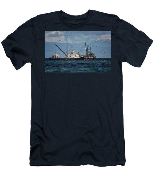 Kornat And Western Investor Men's T-Shirt (Slim Fit) by Randy Hall