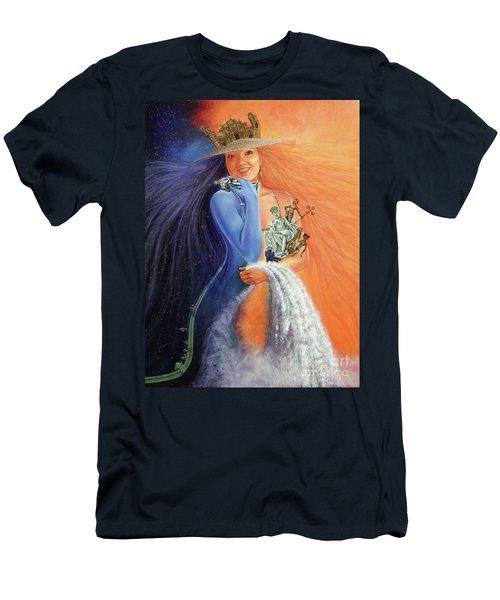Andar La Habana' Men's T-Shirt (Slim Fit) by Jorge L Martinez Camilleri