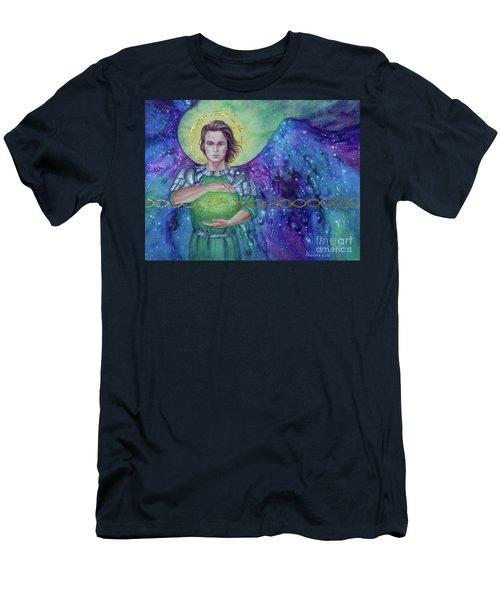 Angel Fire  Men's T-Shirt (Athletic Fit)