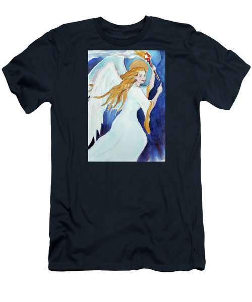Angel Of Illumination Men's T-Shirt (Athletic Fit)