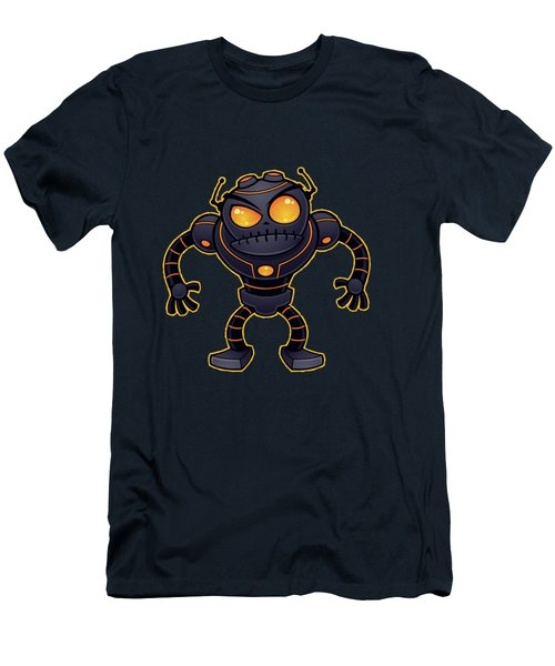 Angry Robot Men's T-Shirt (Athletic Fit)