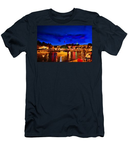 Annapolis Magic Night Men's T-Shirt (Athletic Fit)