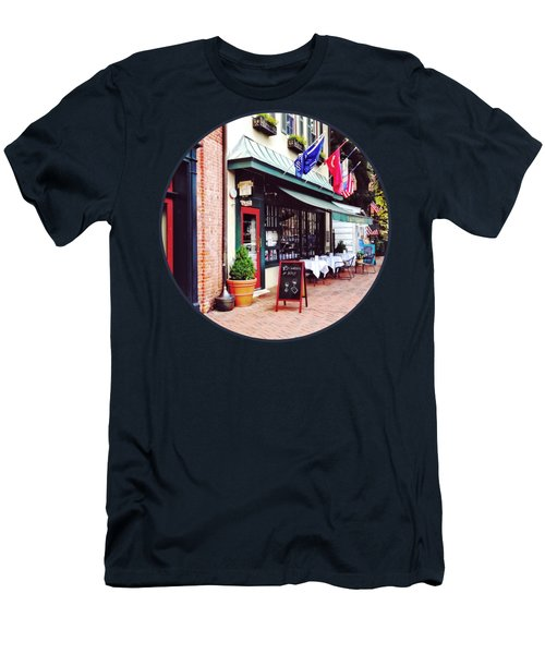 Annapolis Md - Restaurant On State Circle Men's T-Shirt (Athletic Fit)