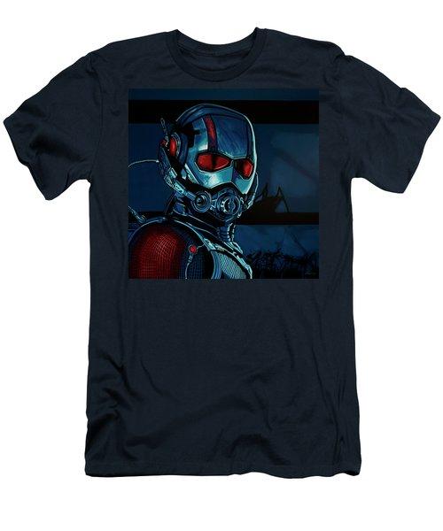 Ant Man Painting Men's T-Shirt (Athletic Fit)