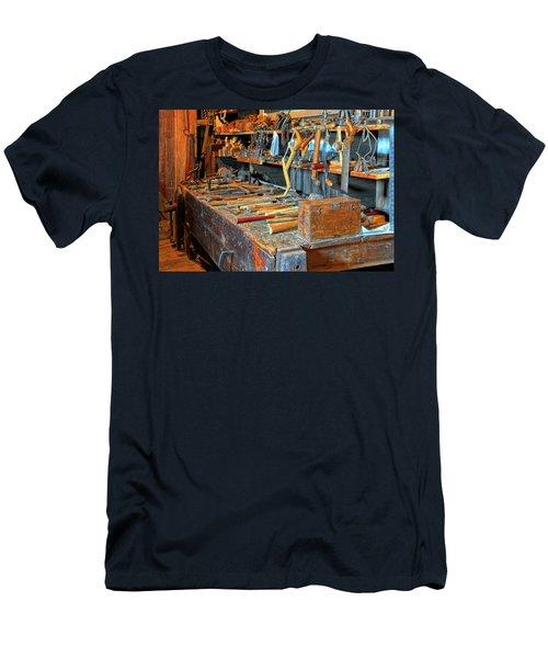Antique Tool Bench Men's T-Shirt (Athletic Fit)